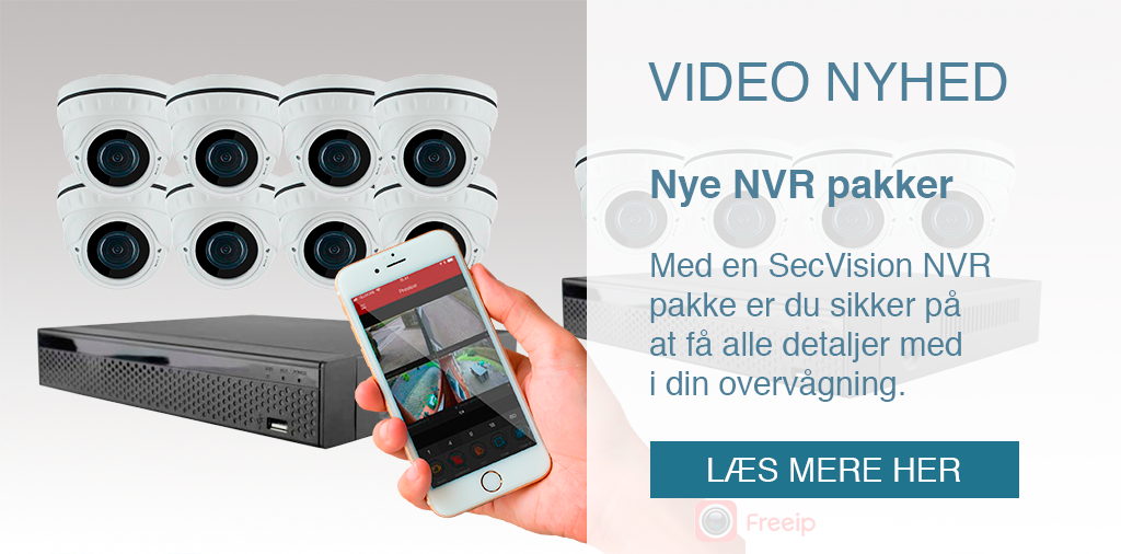 SecPro Sikring A/S | NVR nyhed