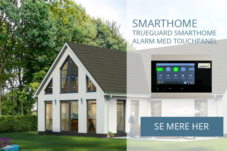 SecPro Sikring A/S | SmartHome alarmen