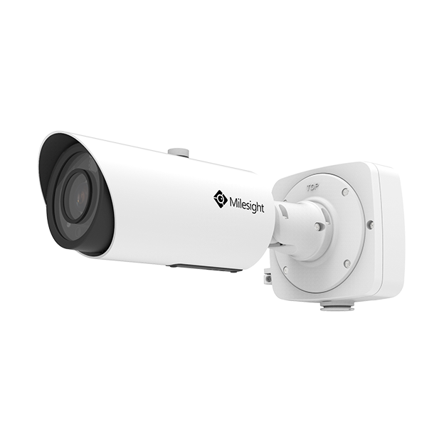 Milesight AI Pro Bullet IP kamera, 5,0MP, motoriseret